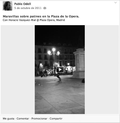 Con Horacio @ Plaza de la Opera