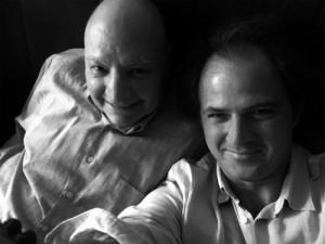 Horacio Vázquez-Rial y Pablo Odell